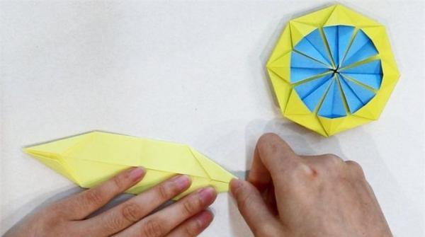 荷兰风车折纸教程