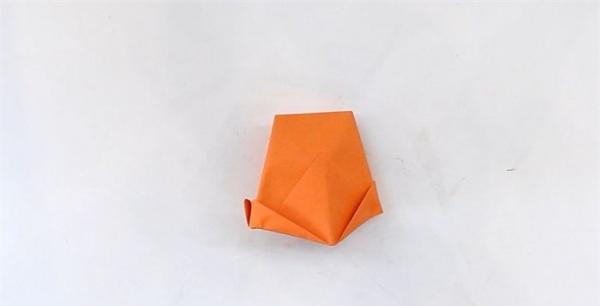 打扫帽子折纸