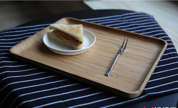 创意木作设计,北欧竹质实木托盘