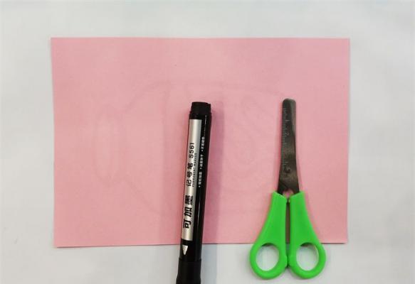 简单的瓶子剪纸方法